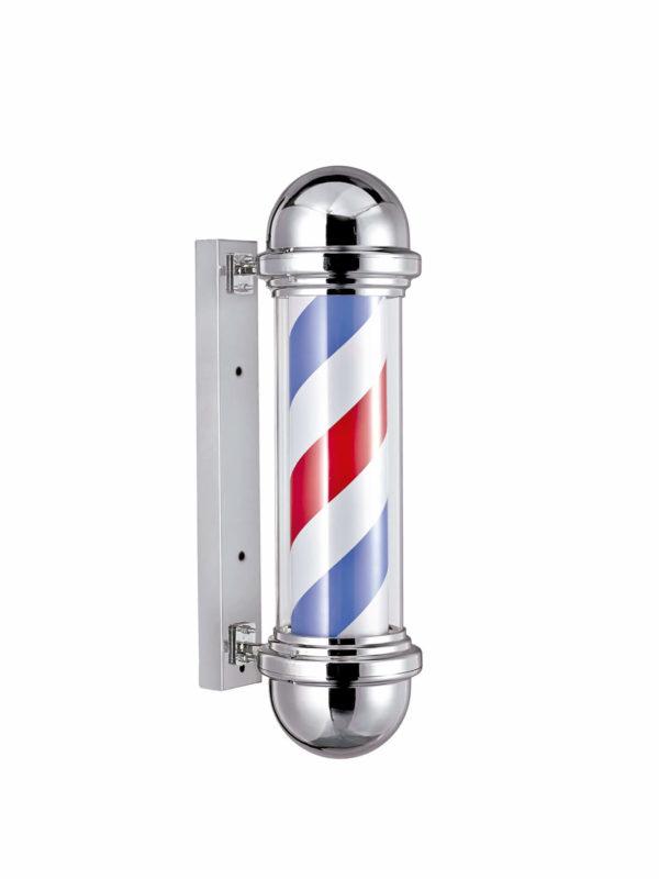 Polo barbero cromado pequeño 04743