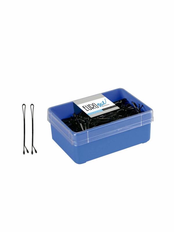 Caja 300 clips con bolita negra 01604/50