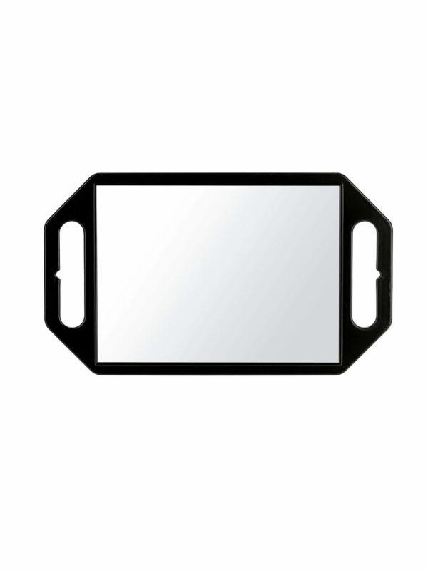 Espejo profesional negro con asas 01955/50