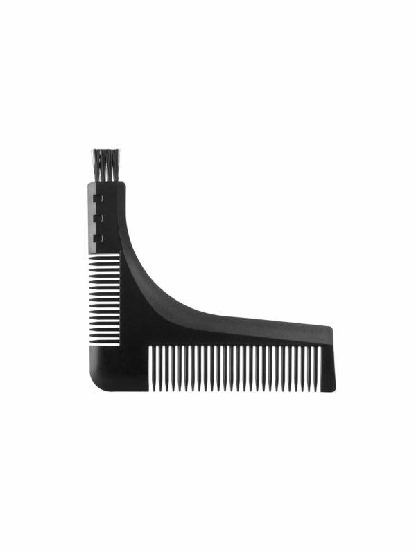 Peine con ángulo para medir y retocar la barba y el bigote 06176