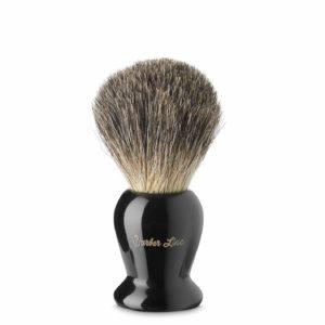 Brocha afeitado pelo natural