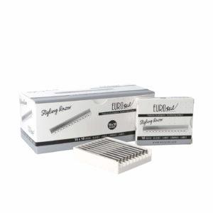 10 cajas de 10 cuchillas profesionales Styling Blades EUROSTIL