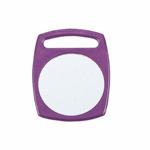 Espejo cuadrado con asa Ø 63 mm