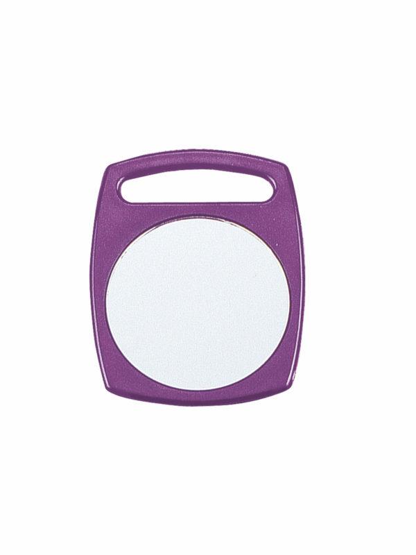 Espejo cuadrado con asa Ø 63 mm 50250