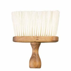 Cepillo barbero madera grande