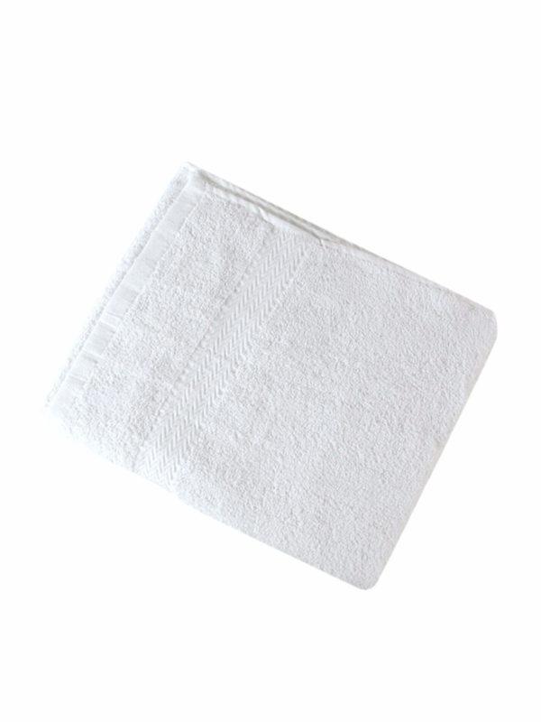Bolsa 3 Toallas Blancas 100% algodón 74 x 46 cm 52947/58