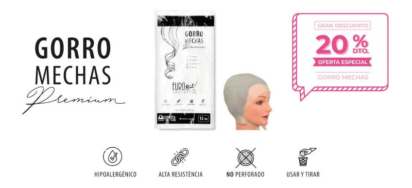 Oferta especial nuevos gorros para mechas Eurostil Argentina